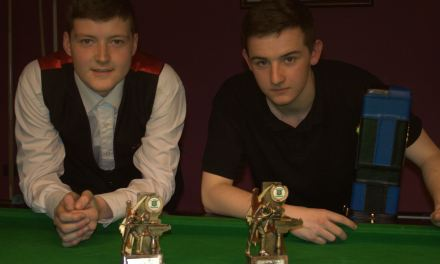 Holland Wins U/17 Stars title at Joey's Snooker Club