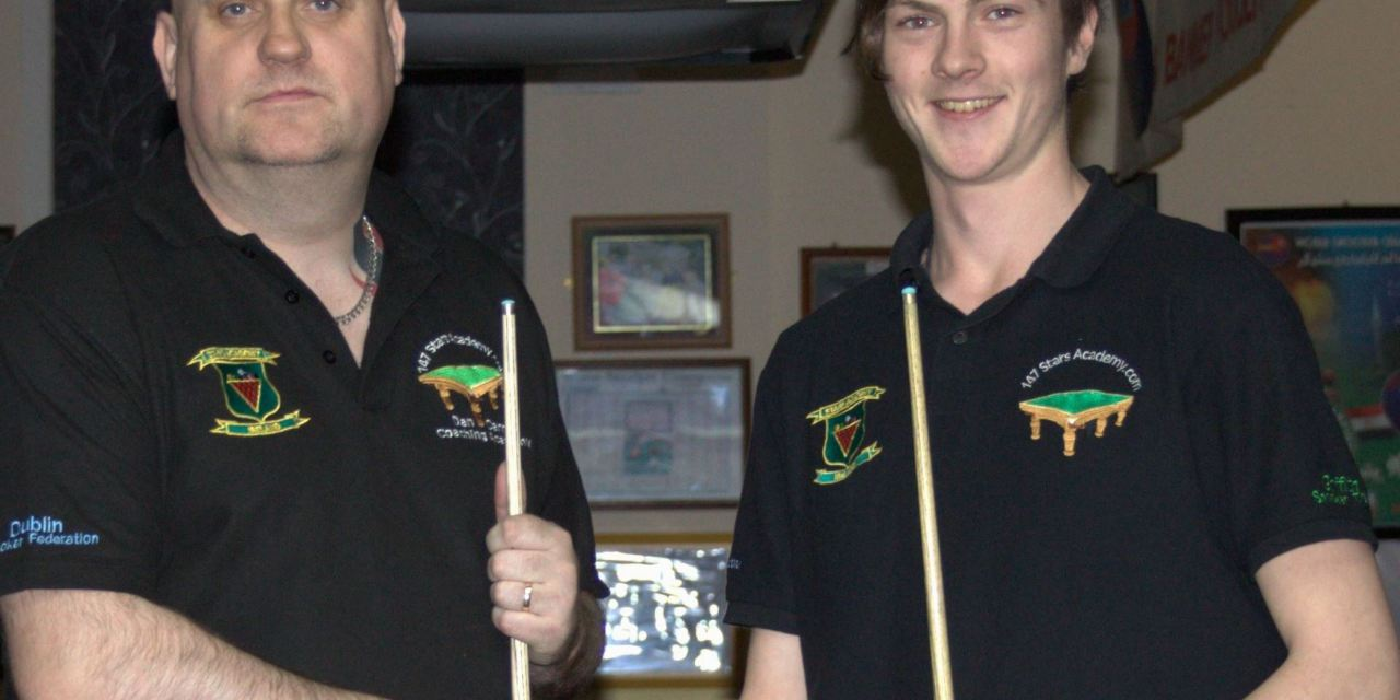 Ronan takes Griffith Tour 2 at the Ivy Rooms Carlow
