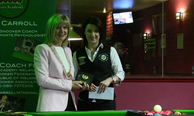 Valerie Maloney takes International Ladies Irish Open 6 Red event at Joey's Dublin
