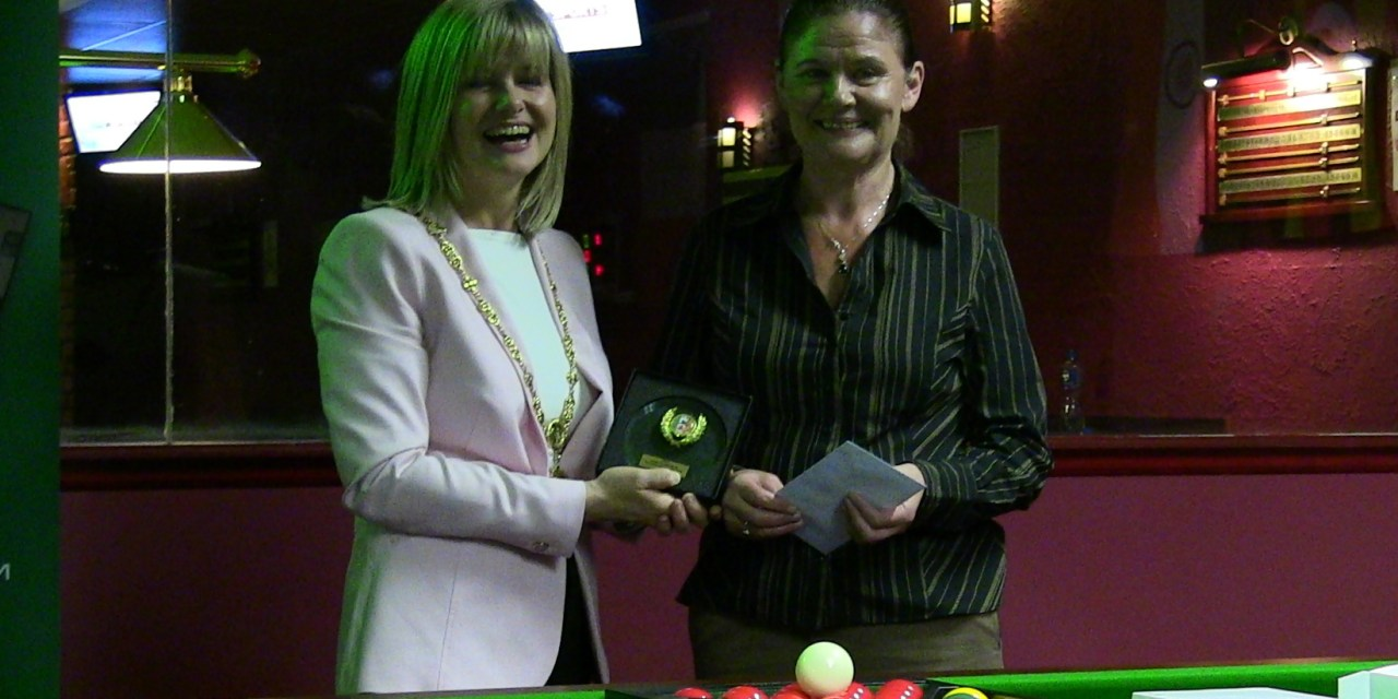 Ladies Irish Open – Intermediate – Cathy Dunne takes the Title at Joey's