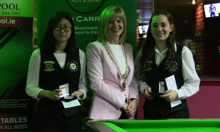 Ladies Irish International Snooker Open – Report