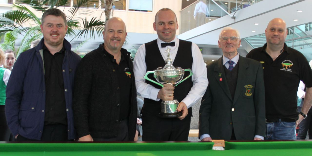 Dublin Snooker Federation & The Griffith Tour with World Champion Stuart Bingham