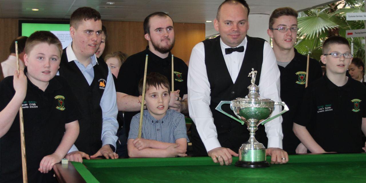 Stars Academy Ireland with World Champion Stuart Bingham, Ken Doherty & Fergal O'Brien