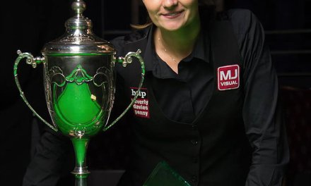 Reanne Evans takes World Ladies Snooker title in Leeds for the 11th time