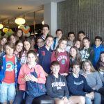 Avanti Students are introduced to Snooker at Sharkx Newbridge