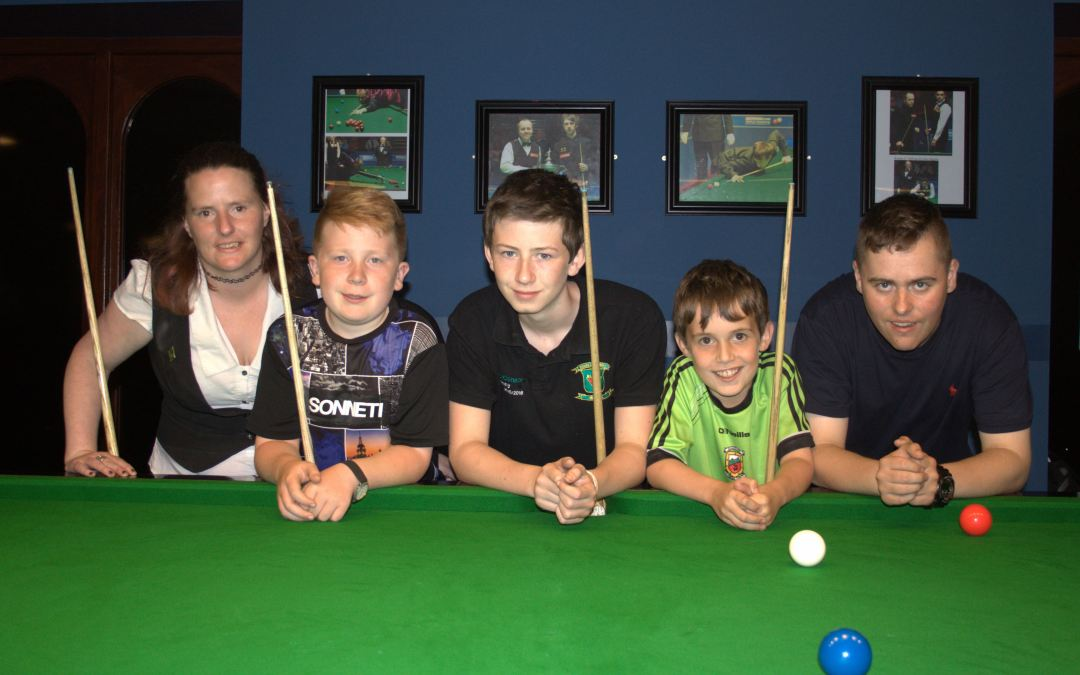 Snooker Camp at Sharkx Newbridge