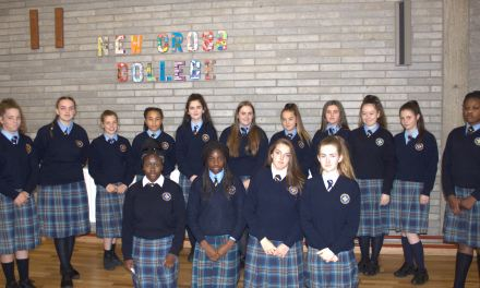 New Cross College in Dublin Join RILSA with 15 girls signing up as members
