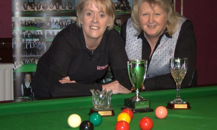 Ann McMahon takes the RILSA Ladies Leinster Masters at Joey's Recently