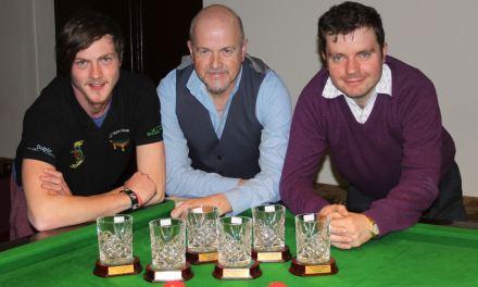 Daragh Hackett tops the Dublin Federation League after week 4