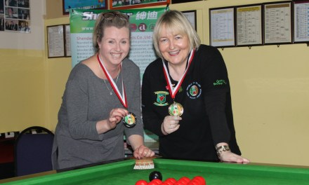 Annette Newman takes County Gold in Carlow