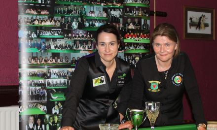 Cathy Dunne retains her RILSA Dublin Open Title at Joey's
