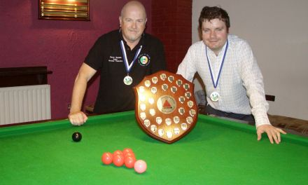 Griffith A are Dublin Snooker Federation 2016-2017 League Champions