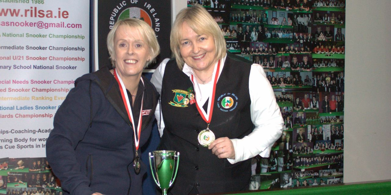 Annette Newman is RILSA Ladies Leinster Masters Champion 2017