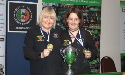 Annette Newman is National Billiards Champion 2017 – 3 in a row for Annette