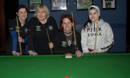 RILSA-WOMEN'S BILLIARDS 2018 SEASON GETS UNDERWAY