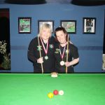 Christine Carr wins her first RILSA Billiards Ranking @ Sharkx Newbridge