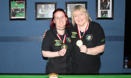 Annette Newman wins the 3rd Billiards Ranking of the season at Sharkx