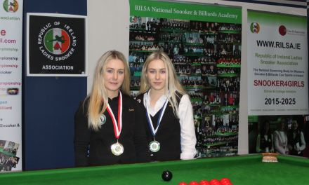Carrie Randle wins RILSA Intermediate Ranking 6 in Newbridge