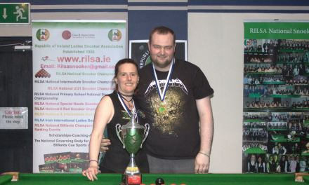 Sharkx B Team take Leinster Snooker Federation Inaugural Cup Title in Newbridge