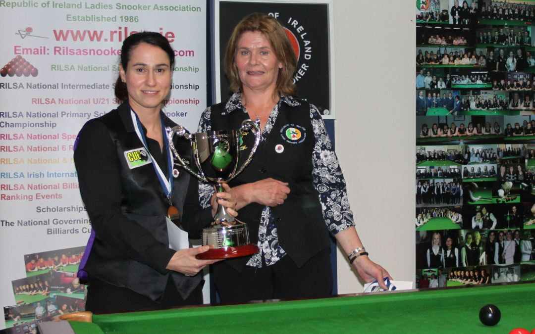 Paula Judge retains RILSA National Championship title at Sharkx Newbridge