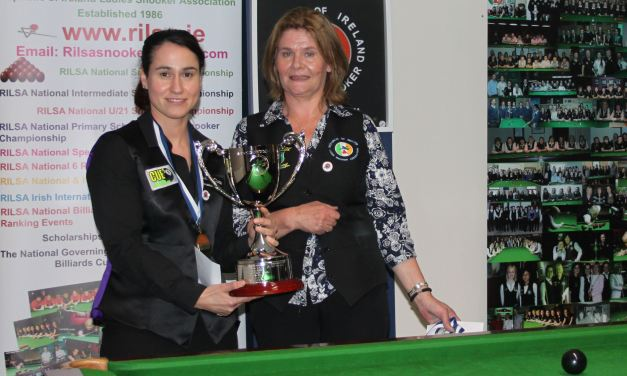 Paula Judge retains RILSA National Championship title at Sharkx Newbridge