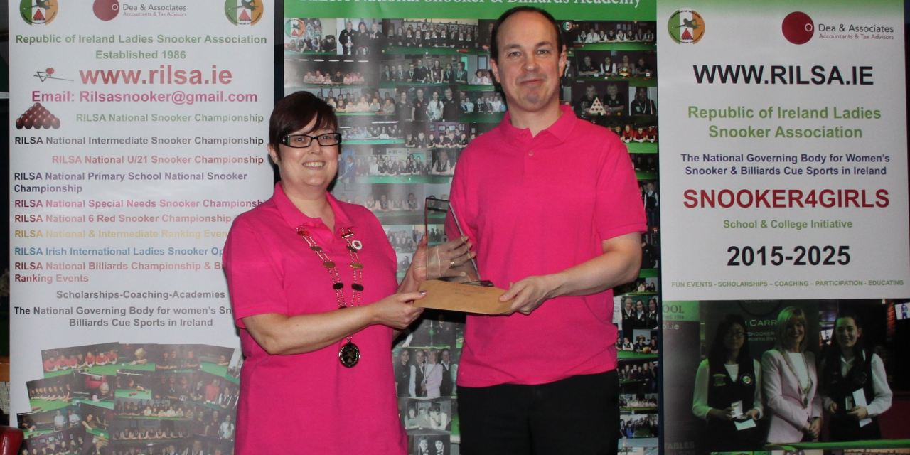 Fergal O'Brien Wins RILSA Inaugural Pink Ribbon Pro-Am @ Sharkx Newbridge