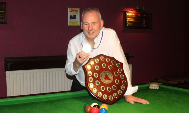 Joey's A are Dublin Snooker Federation League Champions 2018