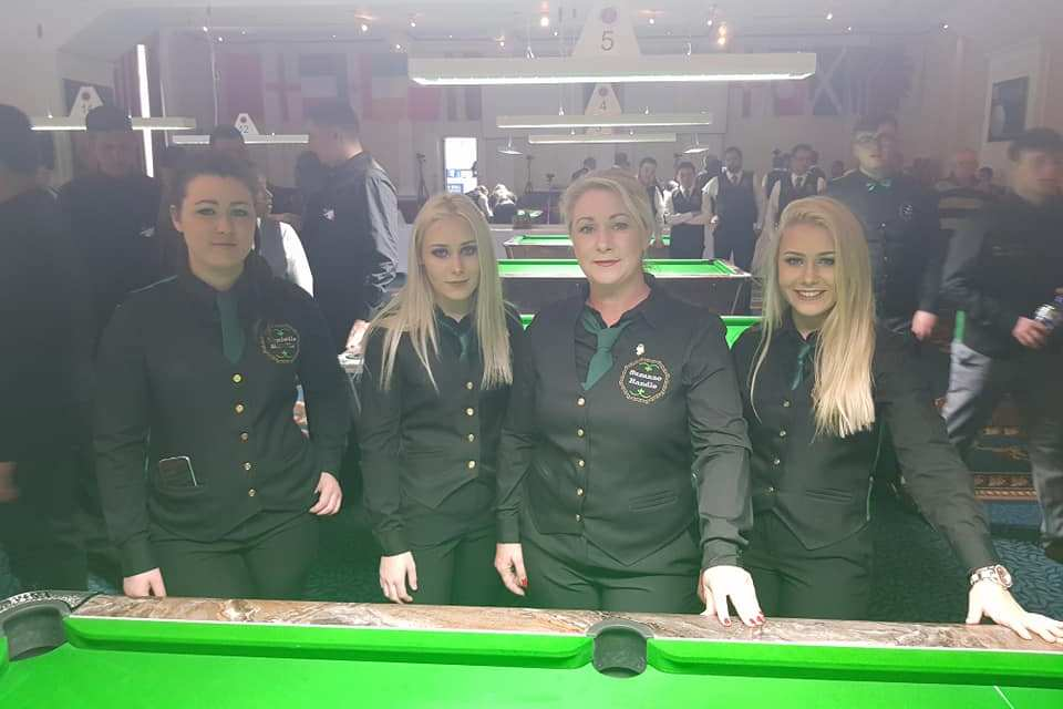 Irish Ladies Pool Team did us proud at the AEBF World Championships in Blackpool