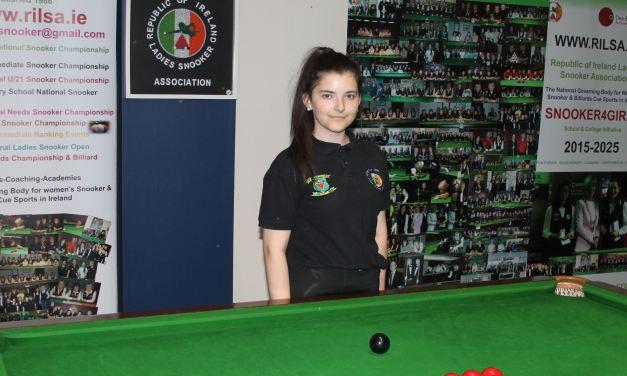 Roisin Beale from Newbridge is selected for RILSA Scholarship