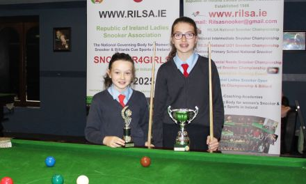 Grace Byrne retains RILSA National Primary School Championship at Sharkx