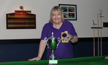Annette Newman Retains National Ladies Billiards Title – Winning 4 in a Row