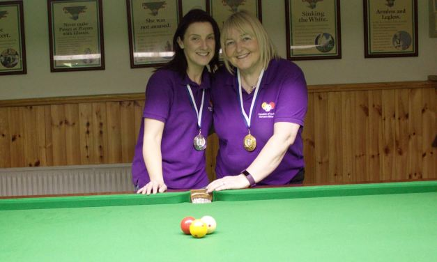Annette Newman Wins Kildare Open – Billiards Ranking 4 @ the CYMS Newbridge