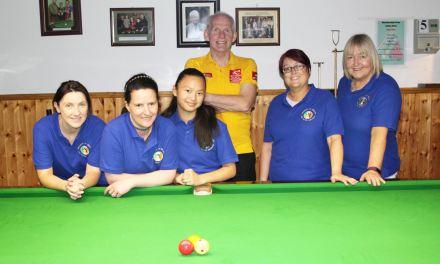 The Republic of Ireland Ladies Billiards – Training Sessions with World Billiards Coach Aidan Murray