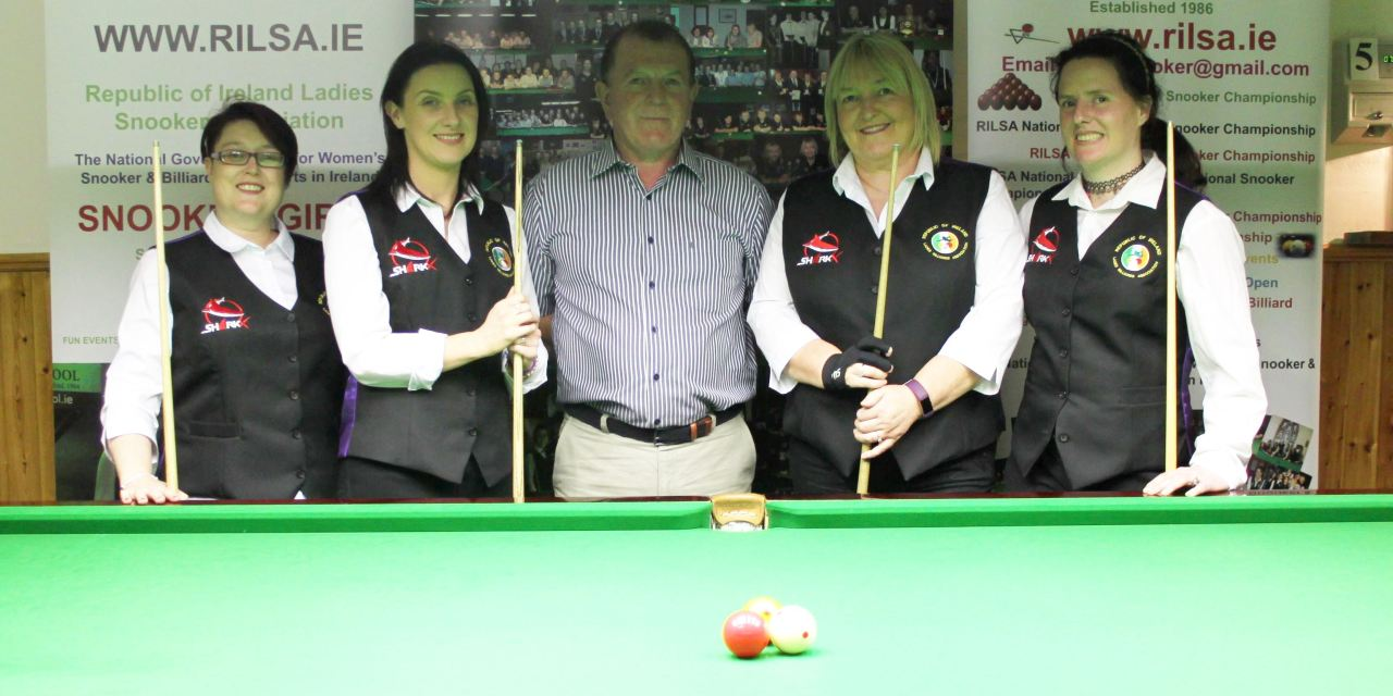 Irish Ladies Making History at the World Billiards Welsh Open in Cwmbran