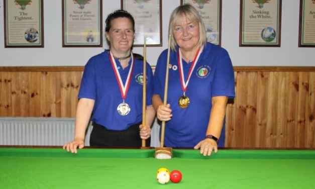 Annette Newman wins National Billiards Ranking 6 at the CYMS Newbridge