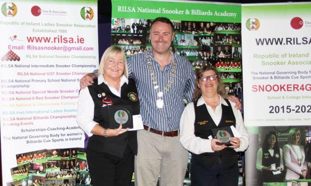 Annette Newman Wins Inaugural International Ladies Irish Open Billiards Championship at D'Arcy McGees Dublin
