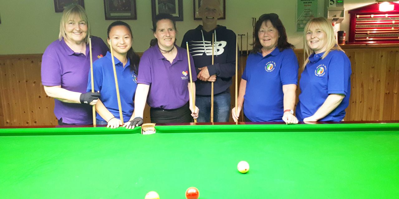 Ladies Billiards Coaching Continues as the 3 National Championships get closer