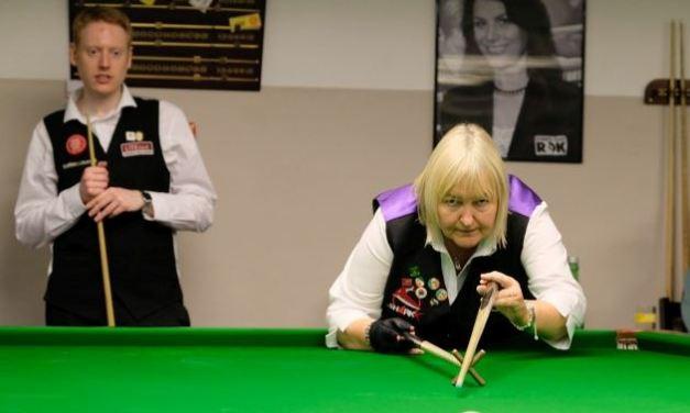 Annette Newman Represented RILSA & Ireland in Vienna at the Austrian Open World Billiards Championship