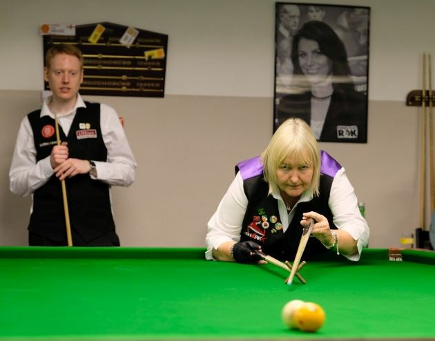 Annette Newman Represented RILSA & Ireland in Vienna at the Austrian Open World Billiards Championship