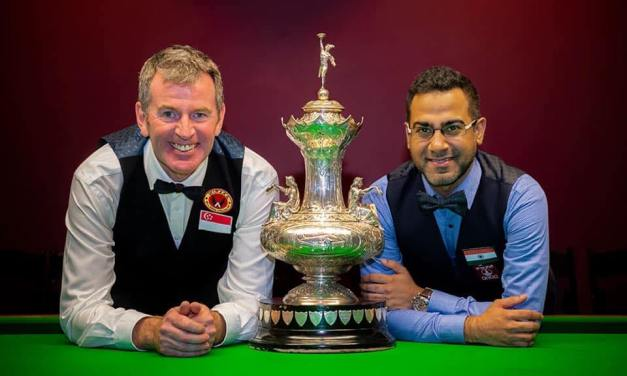 Peter Gilchrist Wins 4th World Billiards Title in Melbourne recently