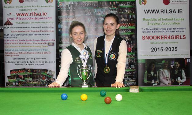 Megan Randle is the 2019 RILSA National U21 Snooker Champion