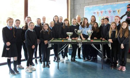 Current National Snooker & Billiards Champion – Annette Newman Visits Schools