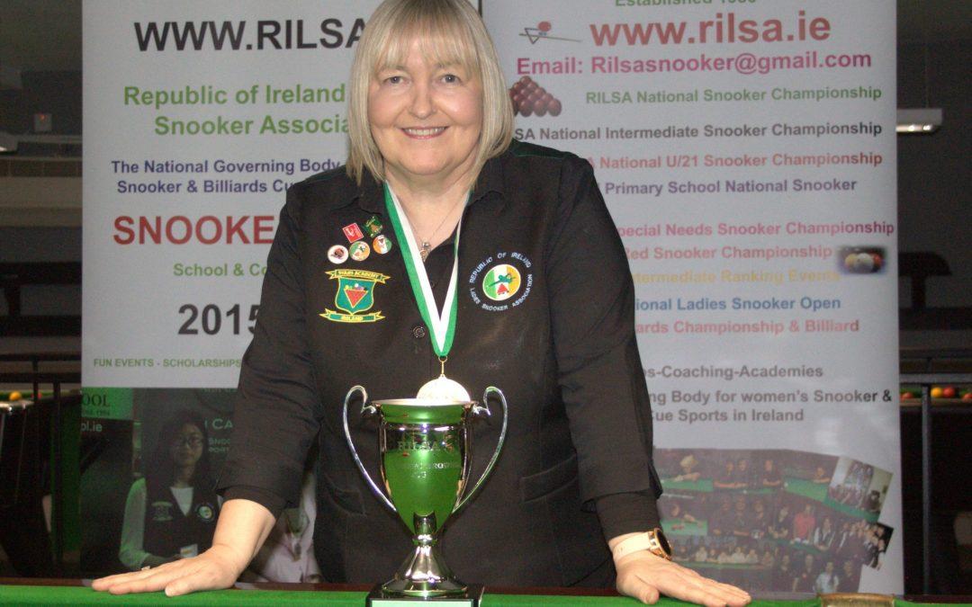 Annette Newman Wins RILSA National 10 Red Championship at Sharkx Newbridge