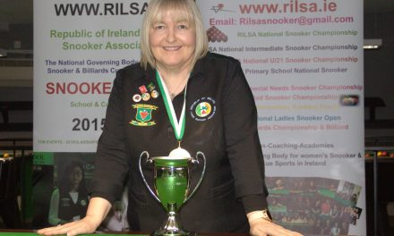 Annette Newman Wins RILSA National 10 Red Championship at Sharkx Newbridge