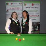 Joanna Ward makes it 3 in a row as she Wins Intermediate Billiards Ranking 4