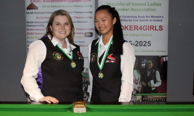 Joanna Ward makes it 3 in a row as she Wins Intermediate Billiards Ranking 4