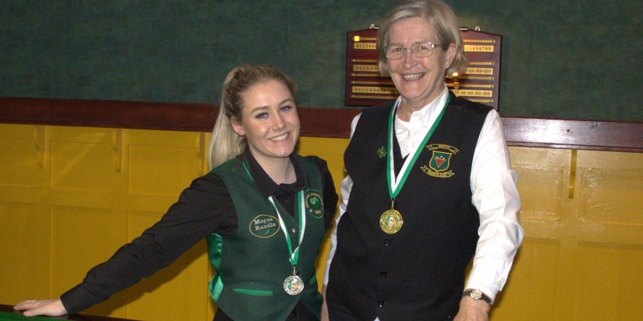 Stephanie Foley Wins her First National Intermediate Snooker Ranking Event in Newbridge