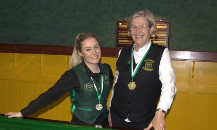 Stephanie Foley Wins her First National Intermediate Snooker Ranking Event in Newbridge