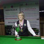 Sandra Bryan Wins The RILSA National Amateur Snooker Championship