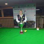 Annette Newman Wins her 6th National Billiards Title in a row in Newbridge
